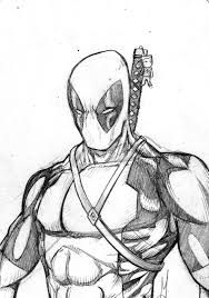 deadpool sketches - Google Search