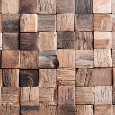 This rustic woden mosaic pattern from Gemini Tiles is sure to add some texture and depth into any room! http://www.ctdtiles.co.uk/p-7108-marshalls-argo-mosaic-30x30mm-sheetsize-300x300mm.aspx