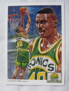 1991-92 Upper Deck Basketball Card #096 Shawn Kemp Supersonics Checklist in Sports Mem, Cards & Fan Shop, Cards, Basketball | eBay