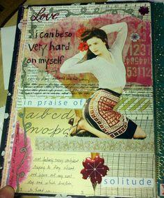 - art journal inspiration - kelly kilmer