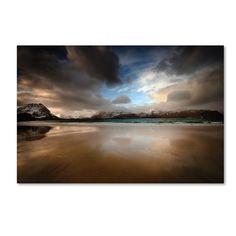 Philippe Sainte-Laudy 'Ramberg Beach' Art, Blue