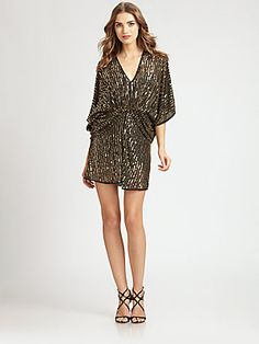 ABS Sequined Dress / Saks