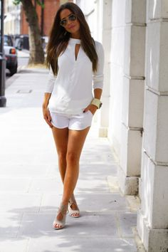 150 pretty casual shorts summer outfit combinations (5)