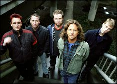 Pearl Jam is an American rock band that formed in Seattle, Washington, in 1990. Since its inception, the band's line-up has included Eddie Vedder (vocals), Stone Gossard (guitar), Jeff Ament (bass), and Mike McCready (guitar). The band's current drummer is Matt Cameron, also of Soundgarden, who has been with the band since 1998.  One of the key bands of the grunge movement in the early 1990s, Pearl Jam was criticized early on as being a corporate cash-in on the alternative rock explosion.