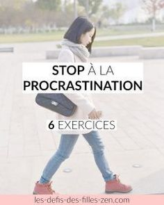 Stop à la procrastination