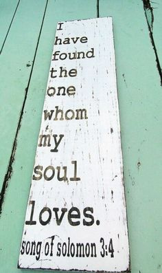 Solomon 3:4