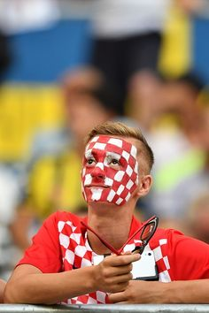 #EURO2016 A supporter looks on prior to the Euro 2016 quarterfinal football match between Poland and Portugal at the Stade Velodrome in Marseille on June 30...