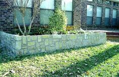 Stone garden by Dallas Deaver and team with http://www.CircleDIndustries.com in Grapevine TX #StoneGarden