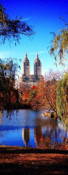 Central Park, New York, USA (Photographer: Marija Skorić) #travel #nyc #mashion1