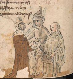 Die Pluemen der Tugent, Vintler, Hans, -1419 1. Hälfte 15. Jhdt.  Cod. Ser. n. 12819 Han  Folio 134