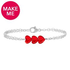 Heart's Desire Bracelet | Fusion Beads Inspiration Gallery