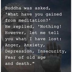 Old Age, Insecure, Karma, Depression, Anxiety, Meditation, Death, Facts, Let It Be
