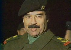 Saddam Hussein, Baghdad, Revolutionaries, Presidents, Captain Hat, Hats, Fashion, Moda, Hat
