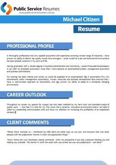 25 best Professional Accounting & Finance Government Resumes: Public ...