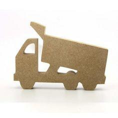Truck 18mm freestanding blank craft shapes http://www.lornajayne.co.uk/