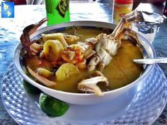 Seafood's Soups  Honduras's Style .