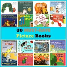 30 Must-Have Picture Books | This Sweet Life