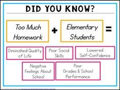 homework for elementary students