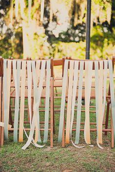 Confesiones de una boda: Decoración