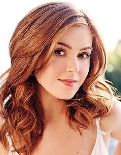 ...that Isla Fisher is one of the hottest redheaded actresses in Hollywood...and that hair! What's not to love.