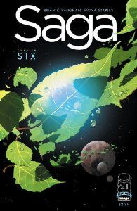 Saga #6 by Brian K. Vaughan. $13.01. Publisher: Image Comics; 6 edition (2012). Publication: 2012. The epic hit series continues, as Alana and her baby finally reach the legendary Rocketship Forest, where everything changes forever.                                                         Show more                               Show less