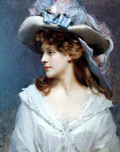 "madrazo raimundo woman white (from <a href=""http://www.oldpainters.org/picture.php?/29601/category/13115""></a>)"