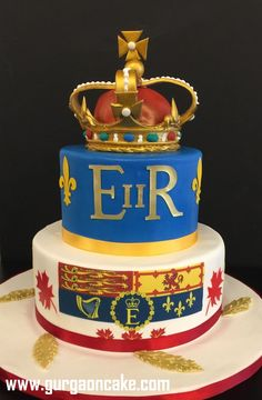 Best Queens birthday cake ideas on Pinterest Queens Birthday Cake, Queen Birthday, Birthday Cakes, Queen Elizabeth Ii, Custom Cakes, Wedding Cakes, Cake Ideas, Sweet, Party
