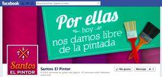 Facebook Cover Día Internacional de la Mujer 2013  Cliente: Santos el Pintor / Grupo Kativo