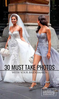 30 Must Take Wedding Photos With Your Bridesmaids ❤ Don't forget to include your bridesmaids in your wedding album. See more: http://www.weddingforward.com/must-take-wedding-photos-with-bridesmaids/ #wedding #bridesmaids Photo @imagefrenzyphotography via Intagram