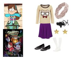"""""""Mabel Pines"""" by themortalinstrumentslover ❤ liked on Polyvore featuring MABEL, Sloosh, VC Signature, STELLA McCARTNEY, SonyaRenée, CO and Forever 21"""