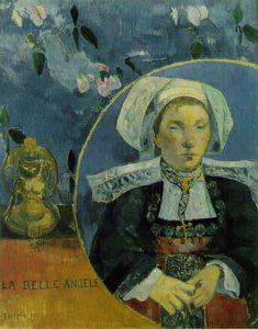 Paul Gauguin La belle Angele