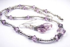 Alexandrite June Birthstone Sterling Silver Swarovski Crystal Handmade Beaded Necklace and Earring 2 Piece SET - LARGE 20 In. Damali,http://www.amazon.com/dp/B000Z9KDLW/ref=cm_sw_r_pi_dp_obEosb1Y7658DH8Q