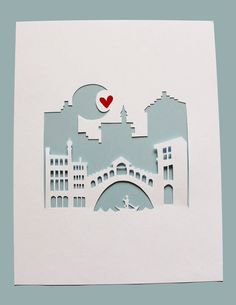Venice Italy.  Personalized Gift or Wedding Gift by Cropacature, $27.00