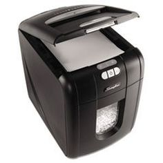 Buy GBC Swingline Stack-and-Shred Hands Free Shredder, Micro-Cut, 100 Sheets at affordable rate. Choose from our wide range of Swingline Paper Shredder, Business Furniture, Office Equipment, Usb Hub, Office Organization, The 100, Cool Stuff, Hands, Special Deals