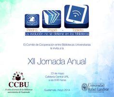 Invitación a XII Jornada anual 2014