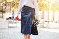 Midi skirt outfit | Style Check