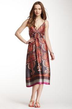 Briony Silk Dress. stunning