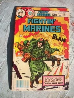 Vintage Edition Charlton Comics Group Fightin Marines by Booth58