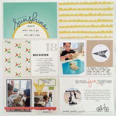 Sunshine In My Soul   Digital Scrapbooking Kit   One Little Bird