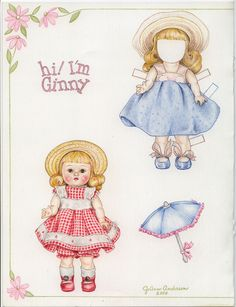I didn't have Ginny paperdolls, but I still have my Ginny Doll.
