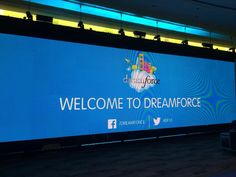 Welcome to #dreamforce! #df13