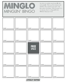 8 Tricks to Get Guests Mingling with People Bingo