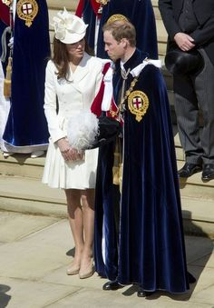 Queen Elizabeth II and members of the Royal Family attend the annual Garter Ceremony at Windsor Castle in Berkshire.