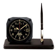 DS60V - Vintage Altimeter Desk Pen Set