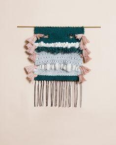 brook wall weaving