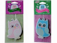 Dotty Owl Hanging Air Freshener - Detailed item view - Cocky's Emporium