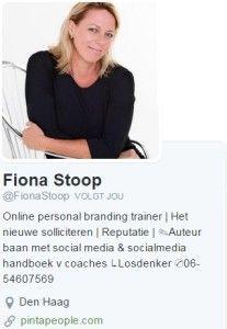 Fiona Stoop