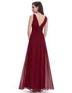 74e9d064c7 Ever Pretty Sleeveless V-Neck Semi-Formal Maxi Dress 09016 at Amazon  Women s Clothing