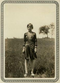 "thehystericalsociety: "" Silk dress II - 1920s (Via) """