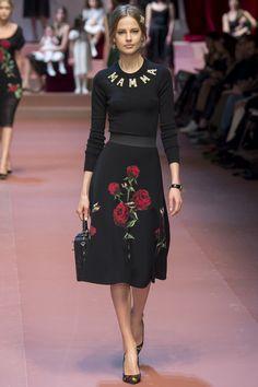 Dolce & Gabbana, Осень-зима 2015/2016, Ready-To-Wear, Милан